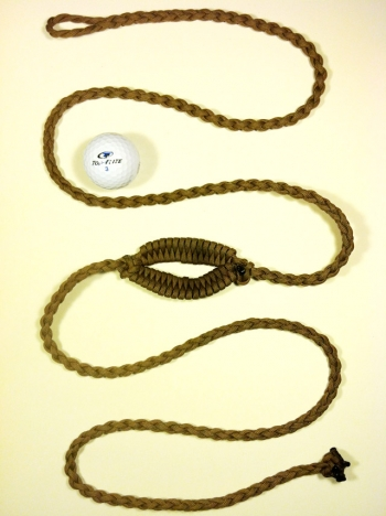 Golf Ball Thrower Paracord Shepherd Sling