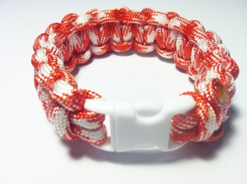 Paracord Survival Bracelet (U Pick Colors - 2 Colors)