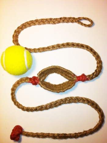 Tennis Ball Thrower Shepherd Sling